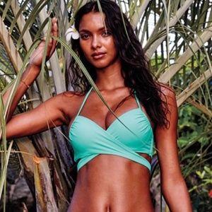 Victoria's Secret Halter Wrap Bikini Set